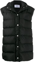 MSGM Sleeveless Puffer Jacket