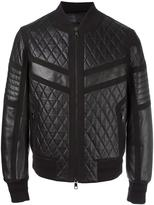 Neil Barrett quilted leather jacket
