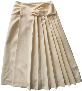 Carven Beige Polyester Skirts