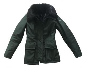 Peuterey Green Polyester Coats