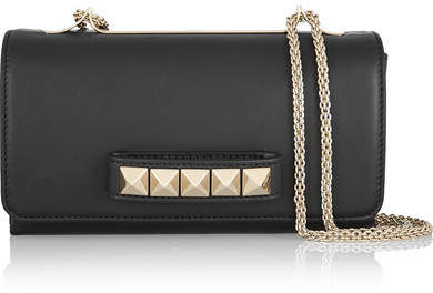 Valentino Va Va Voom Leather Shoulder Bag - Black