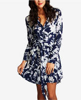 1 STATE 1.state Tie-Front Shirtdress