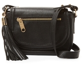 Milly Astor Mini Leather Saddle Crossbody