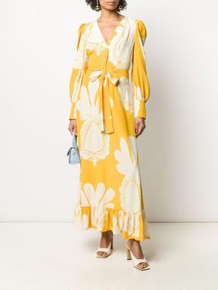La DoubleJ Swing silk dress