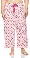 Evans Women's Kisses Print Pyjama Bottoms