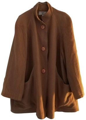 Valentino Camel Wool Coat for Women Vintage