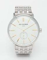Ben Sherman Stainless Steel Watch - Silver