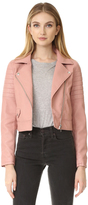 Blank Pretty in Pink Moto Jacket