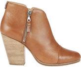 Rag & Bone Margot Leather Double Zip Booties