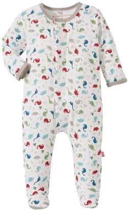 Magnetic Me by Magnificent Baby Dino Expedition Footie (Baby) - Green-9 Months