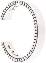 Roar studded edge bangle