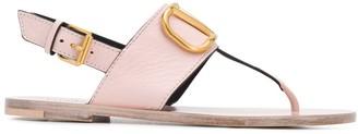 Valentino VLOGO leather sandals