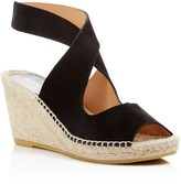 Bettye Muller Mobile Crisscross Espadrille Wedge Sandals