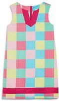Vineyard Vines Girls' Whale Print Patchwork Shift Dress - Little Kid