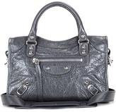 Balenciaga Classic Mini City Leather Shoulder Bag