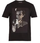 Neil Barrett Freedom Fighters-print cotton T-shirt
