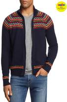 Michael Bastian Fair Isle Zip-Front Cardigan Sweater - GQ60, 100% Exclusive