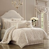 Thumbnail for your product : J Queen New York Milano Queen Comforter Set in Sand