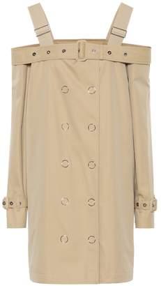 Burberry Cotton gabardine minidress