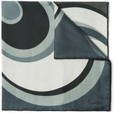 Tom Ford - Printed Cotton And Silk-blend Pocket Square