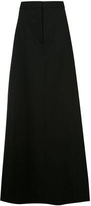 Vera Wang A-line maxi skirt