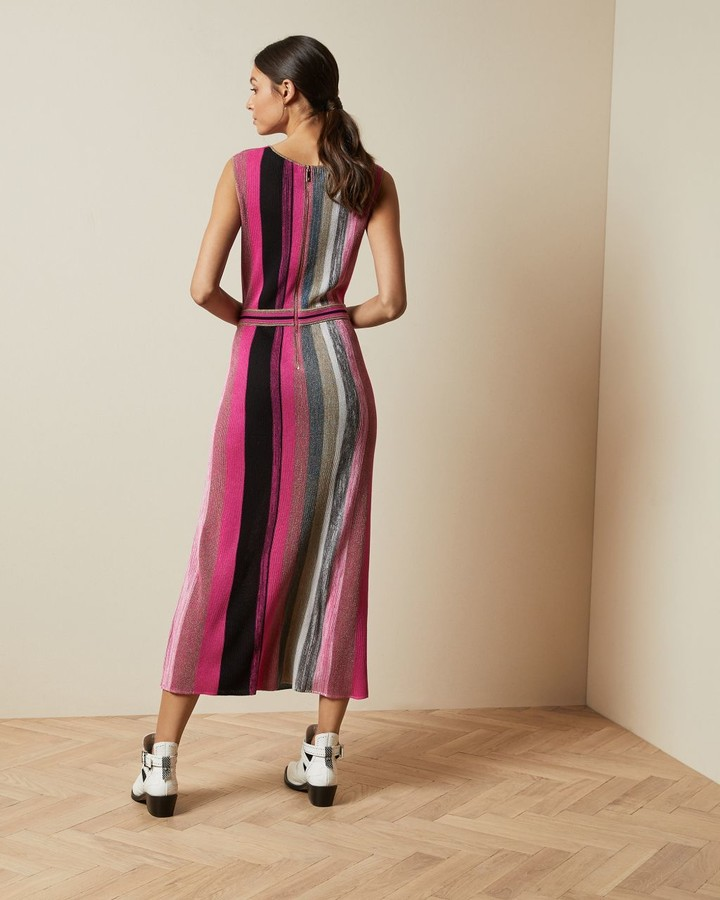 Thumbnail for your product : Ted Baker Knitted Wrap Detail Dress