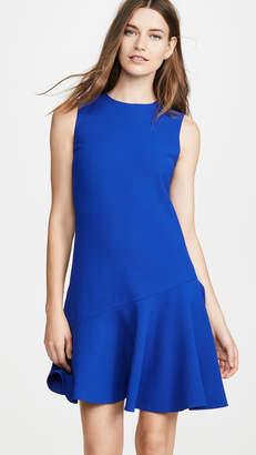 Victoria Victoria Beckham Flounce Hem Shift Dress