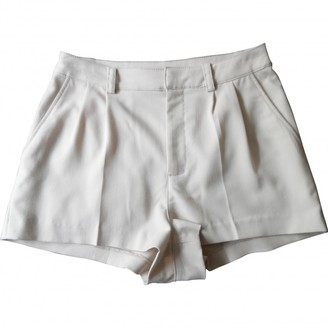 BEIGE Non Signe / Unsigned Shorts for Women