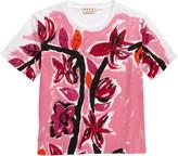 Marni Amoroso Floral Print Graphic Tee