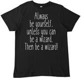 Micro Me Black 'Be A Wizard' Tee - Infant Toddler & Boys