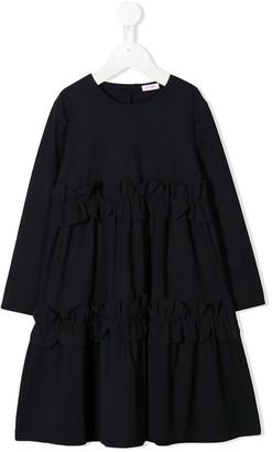 Il Gufo A-line ruffled dress