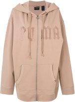 Fenty X Puma - Fleece hoody with harness - women - Cotton/Polyester/Spandex/Elastane - XS