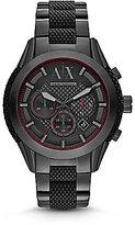 Armani Exchange A/X Men's Chronograph Black IP Watch