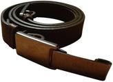Chloé Khaki Leather Belt