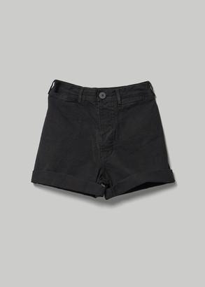 Jesse Kamm Women's Cut Off Shorts in Black Size 4