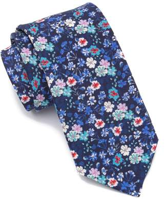 14th & Union Chedell Floral Tie