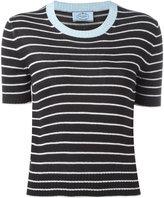Prada striped knit T-shirt