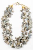 Tigerlily Grey Stone Necklace