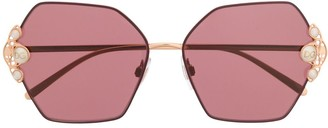 Dolce & Gabbana Eyewear DG2253H geometric-frame sunglasses