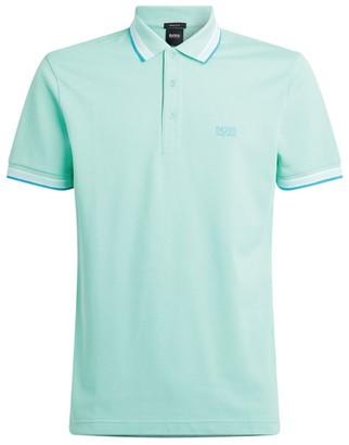 HUGO BOSS Cotton Pique Polo Shirt