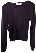 Saint Laurent Purple Wool Knitwear for Women Vintage