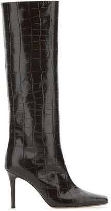 L'Autre Chose Knee-High Emboosed Boots