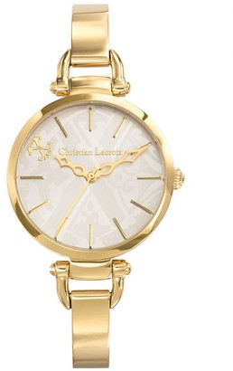 Christian Lacroix Womens Analogue Quartz Watch with Stainless Steel Strap CLWE20