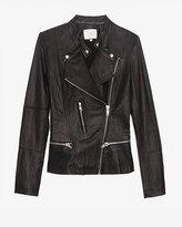 IRO Exclusive Leather Jacket: Black