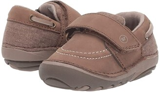 Stride Rite SM Wally (Infant/Toddler) (Brown 1) Boy's Shoes