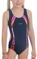 Perfashion Kids Girl's Sports Rowleeback Swimming Costume