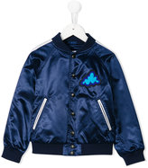 Burberry buttoned bomber jacket - kids - Polyamide/Polyester - 5 yrs