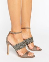 Forever Unique Willow Multi Strap Heeled Sandal