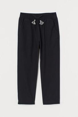 H&M Linen-blend Pull-on Pants