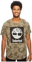 Timberland Short Sleeve Camo Tee Men's T Shirt